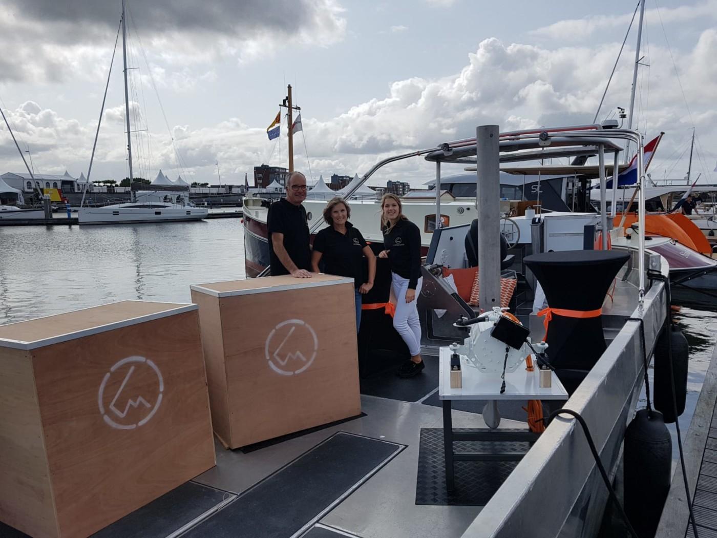 Hiswa te Water, primeursteiger, Load Master Boats, 100% elektrisch vaartuig (1)