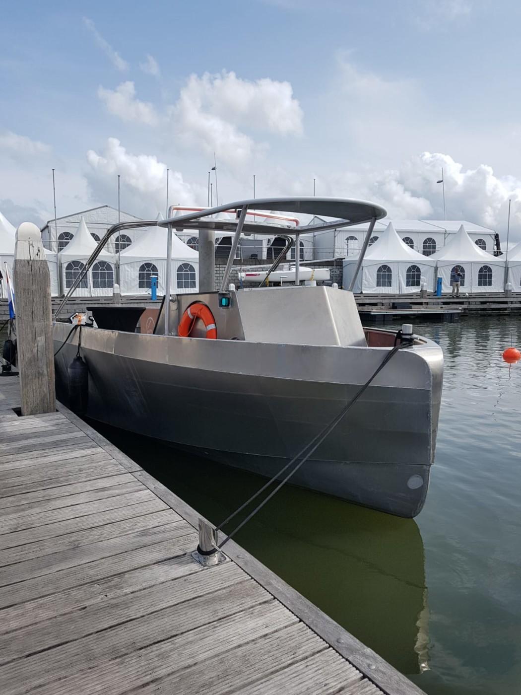 Hiswa te Water, primeursteiger, Load Master Boats, 100% elektrisch vaartuig (2)