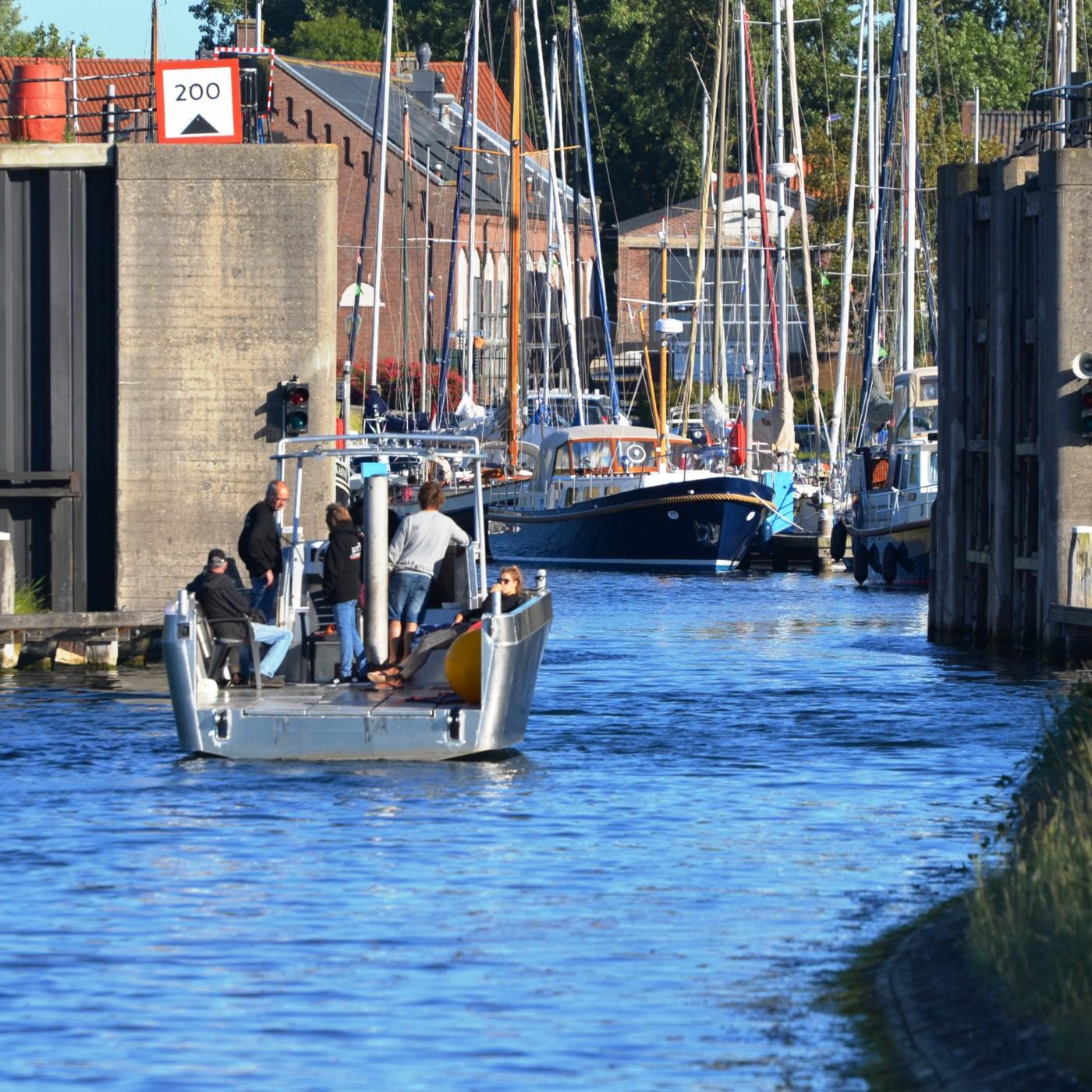 Komst 'Groene Haven' Brouwershaven